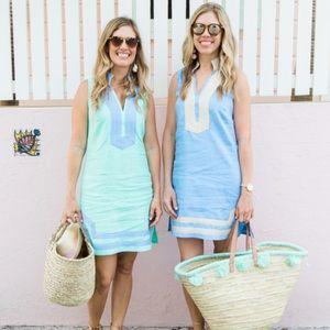 Sail to Sable Linen Dress